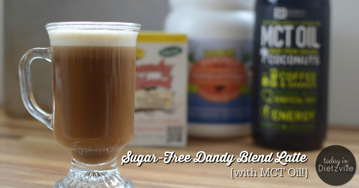 Sugar Free Dandy Blend Latte With Mct Oil All The