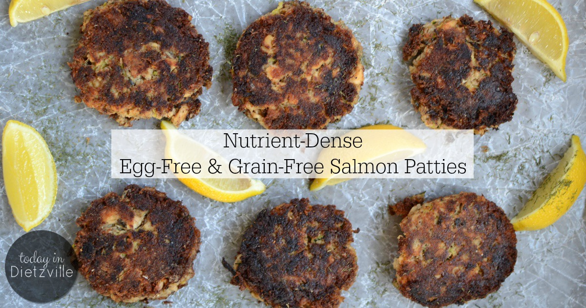 Nutrient Dense Egg Free And Grain Free Salmon Patties Paleo Gaps