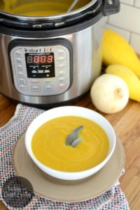 How To Make Any Blended Soup In The Instant Pot | If you thought blended soups were just for babies and old people missing their teeth, you thought wrong! Learn how to make delicious blended soups in your Instant Pot so you can enjoy the healing, blood sugar-stabilizing, nutrient-dense benefits of more veggies in your healthy lifestyle! | TodayInDietzville.com