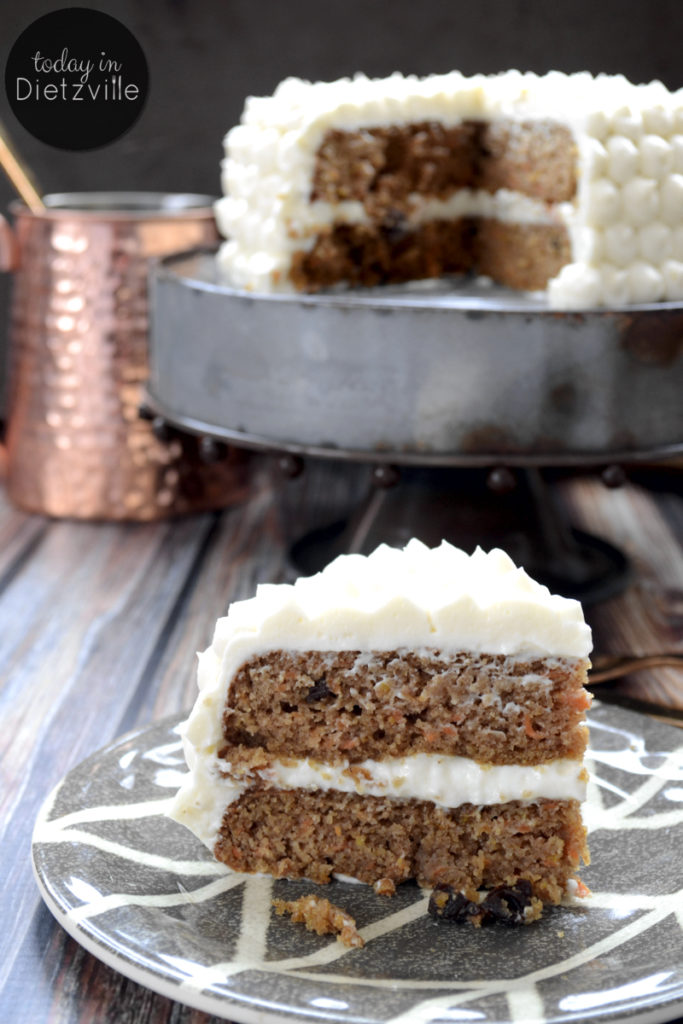 Grain-Free Maple Carrot Cake (with cultured maple cream cheese frosting!)