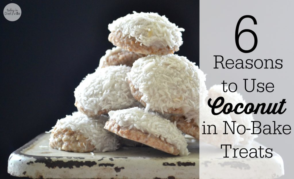 6 Reasons To Use Coconut In No-Bake Treats