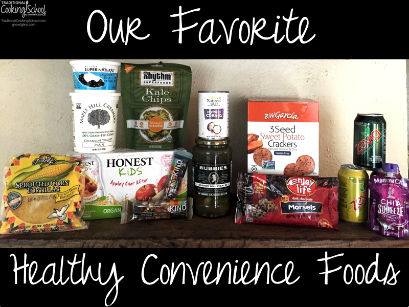 Our Favorite Healthy Convenience Foods