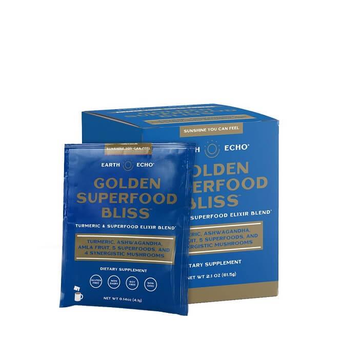 Golden Superfood Bliss Travel Packs