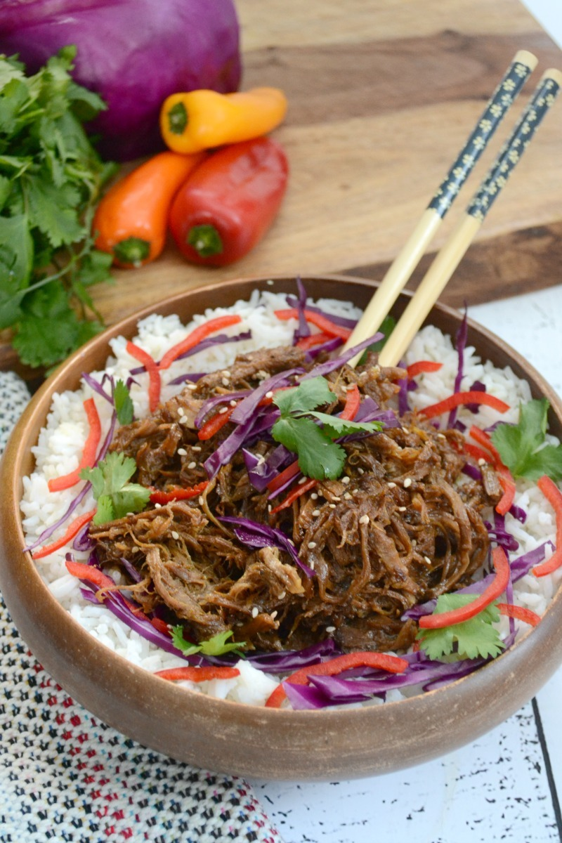 Any way you season it, any way you serve it, nothing beats tender, juicy pulled pork! This Instant Pot Sweet 'n Spicy Asian Pulled Pork is LOADED with flavor. It's Paleo and has a sugar-free, keto option! Make this easy, delicious main dish with pastured pork... I'm discussing the benefits of pastured pork + how to find it, too!