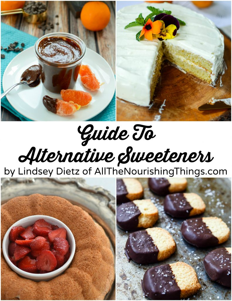 cover of ebook about alternative sweeteners for making keto desserts