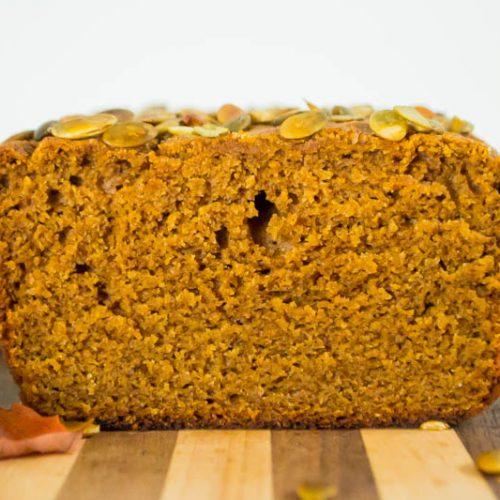 Best Cassava Flour Pumpkin Bread Nut Free Coconut Free Dairy Free Grain Free