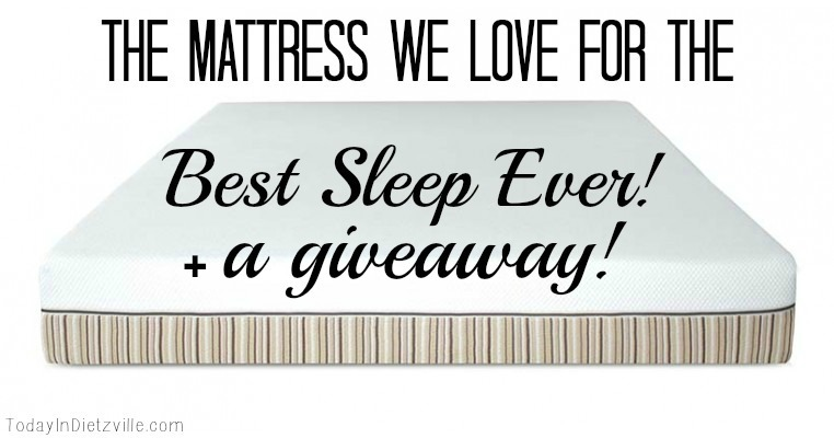 The Non-Toxic Mattress We Love For The Best Sleep Ever | All The Nourishing Things