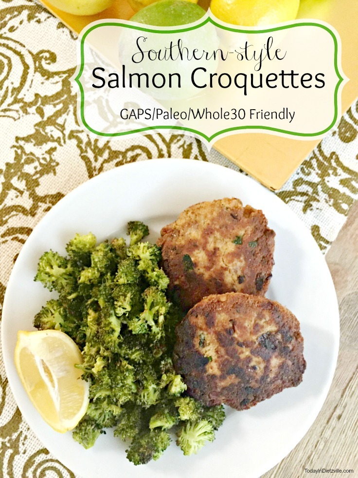 Southern Style Salmon Croquettes Gaps Paleo Whole30